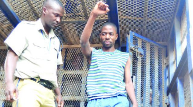 Masumba before he was jailed