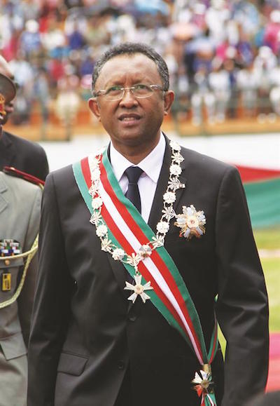 Madagascar's new president also flying in for  Sata's burial