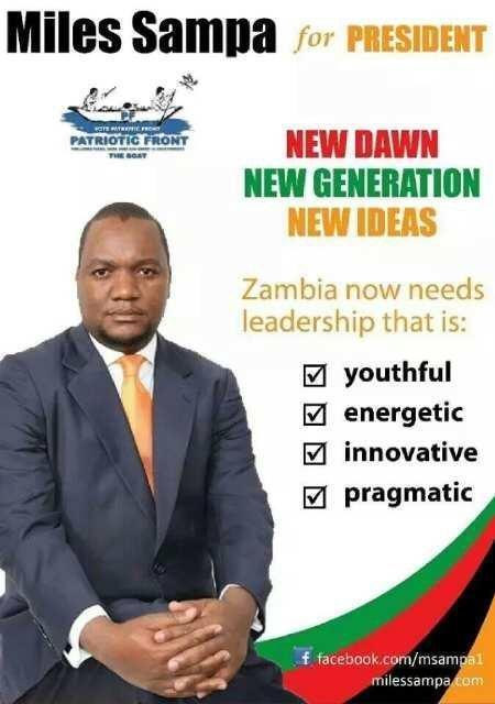 Miles Sampa files nominations for PF presidency, challenges Edgar Lungu to prove his popularity