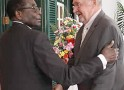 It's Mugabe who told Scott to 'behave'