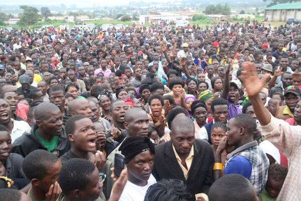 Photos of the day: HH in Mbala, Mpulungu