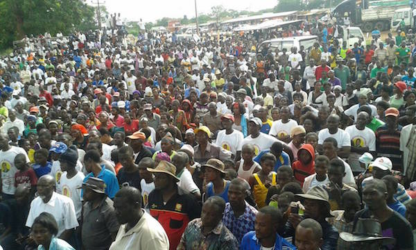 UPND Masaiti rally in pictures