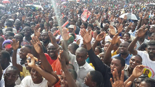 Photos of the day: UPND Chambishi and Kafue rallies