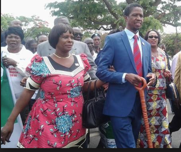 Lungu's walking stick not for witchcraft – Wina