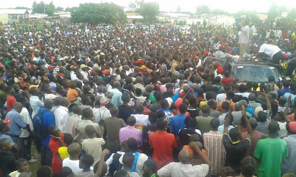 Photos of the day: HH in Kaoma