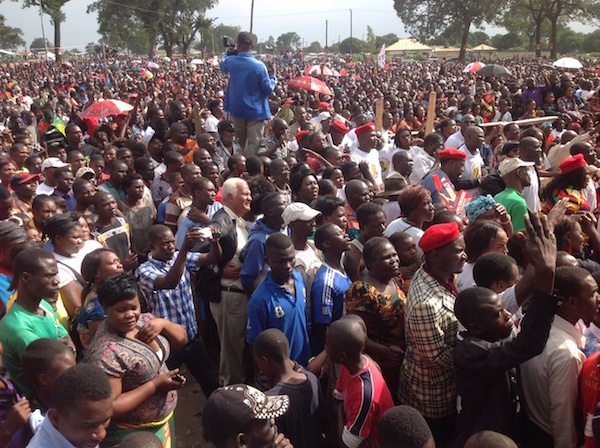 UPND rally in Chingola