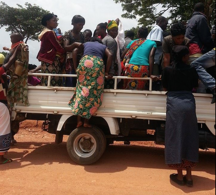 Photos of the day: PF ferrying villagers to boost numbers at Nakonde rally