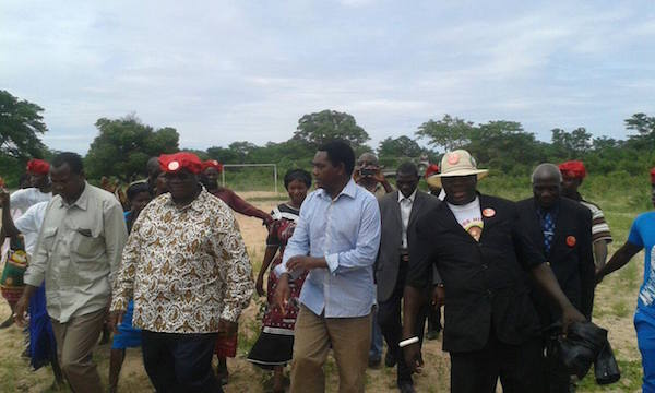 HH and Kambwili exchange in full