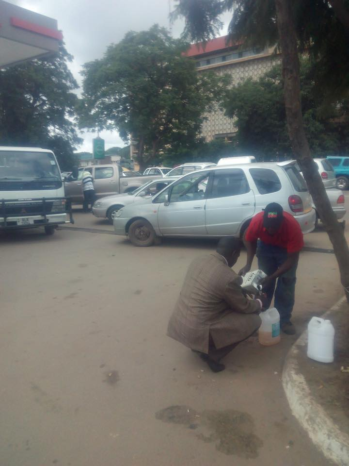 Photo of the day: Fuel blues continue in Lusaka