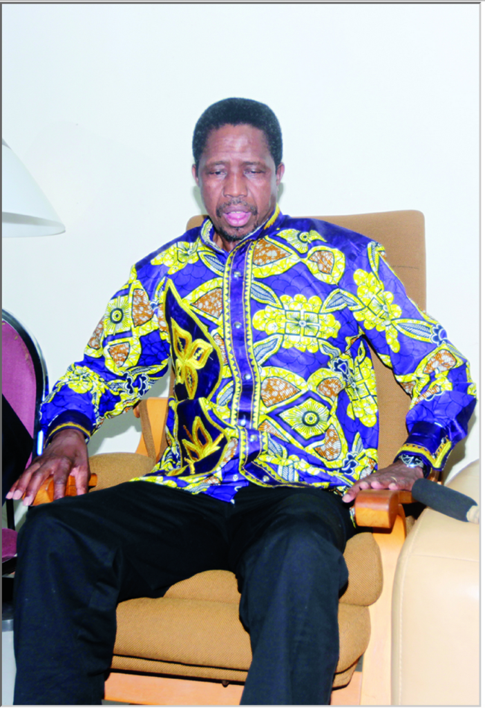 President Lungu: Does this gentleman look healthy?