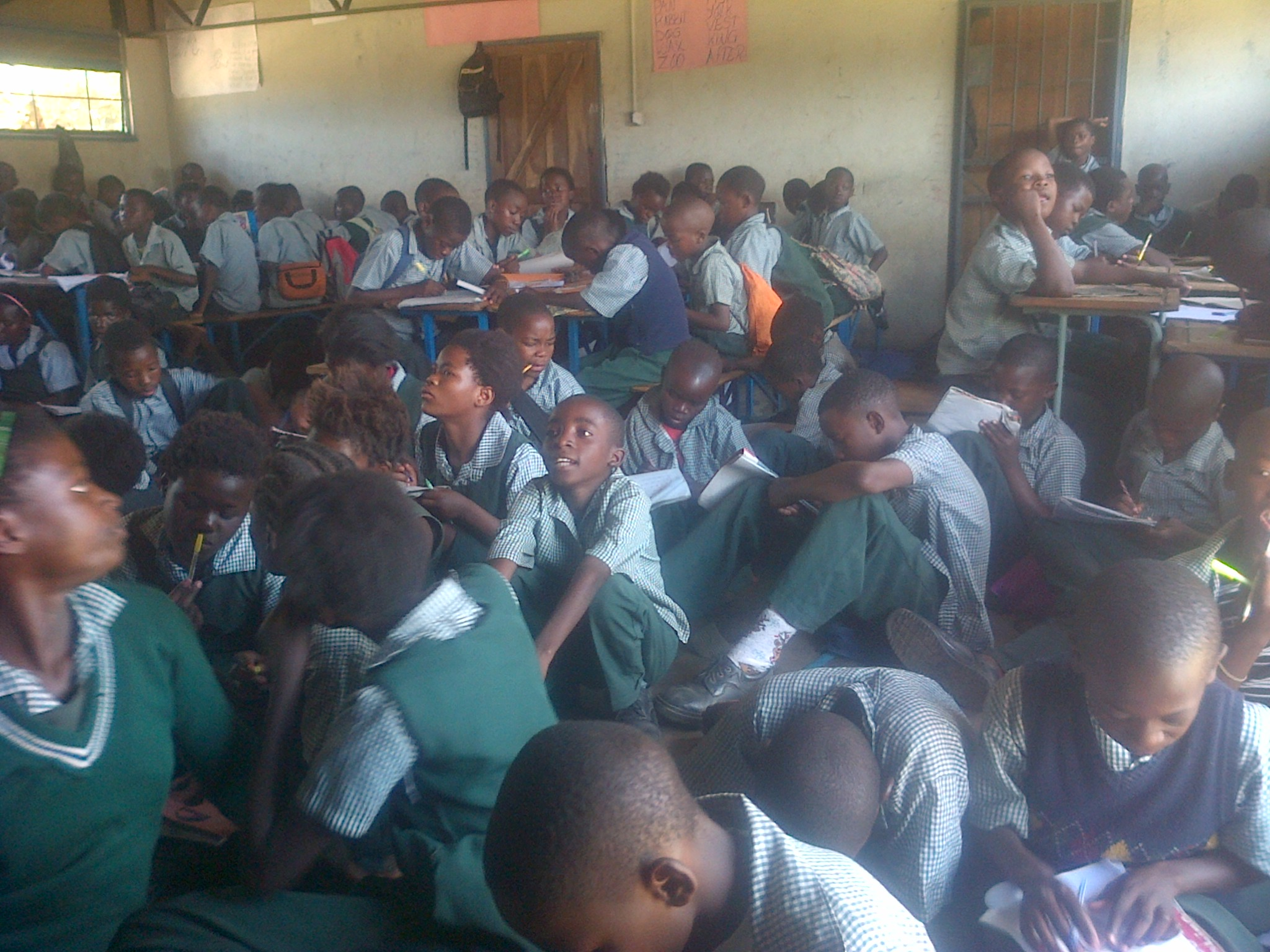 Photo of the day: learning in Lungu's Chawama
