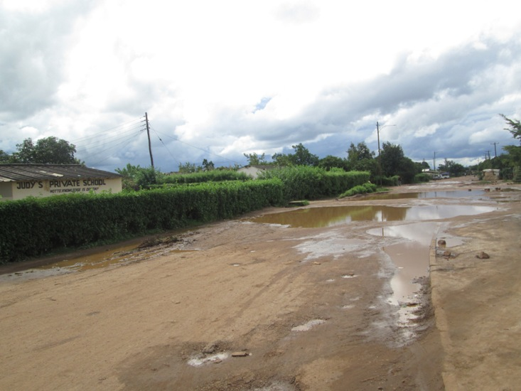 Kabwe residents up against MPs over poor roads