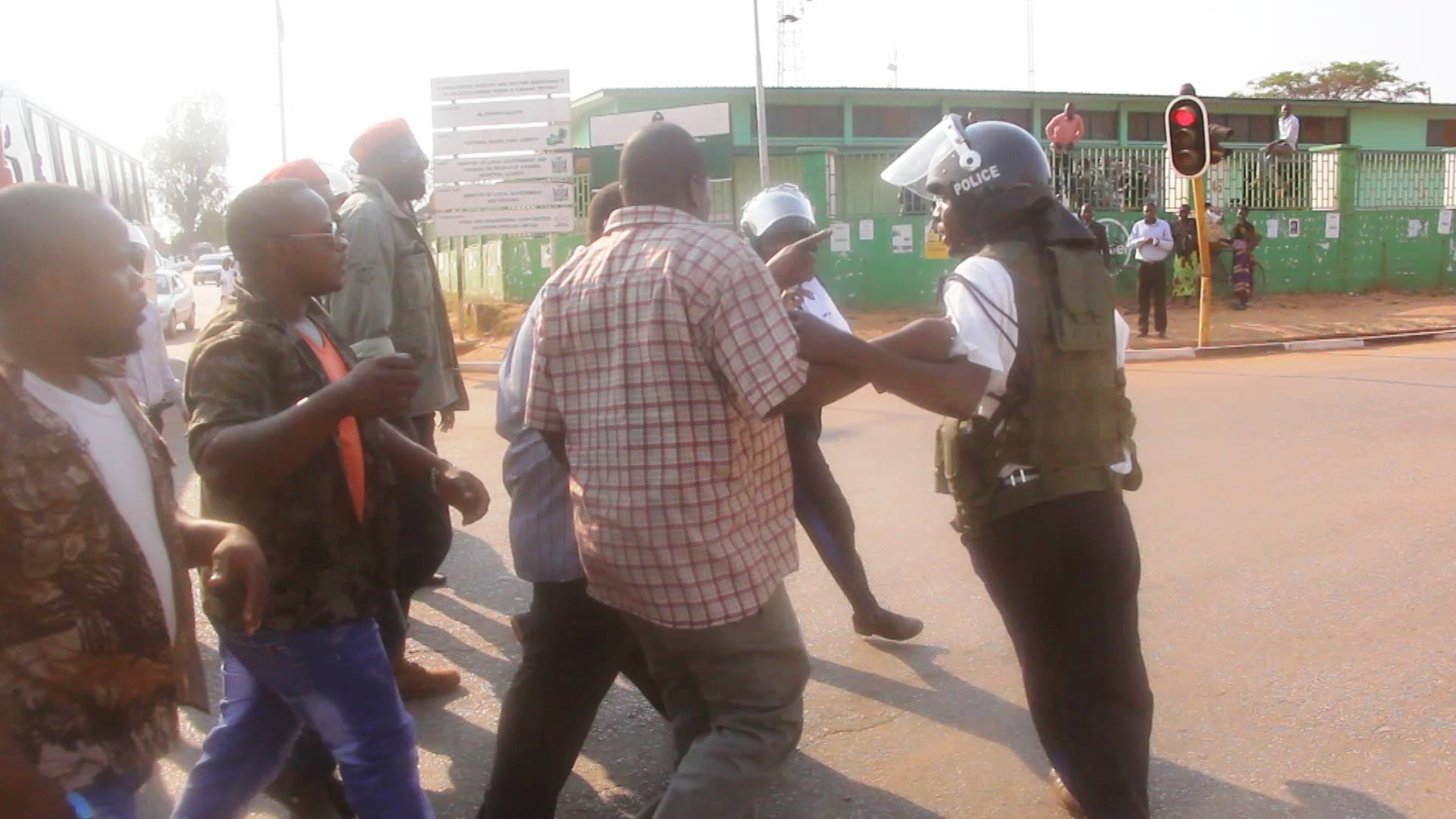 Unlawful assembly, unlawful cops in GBM case