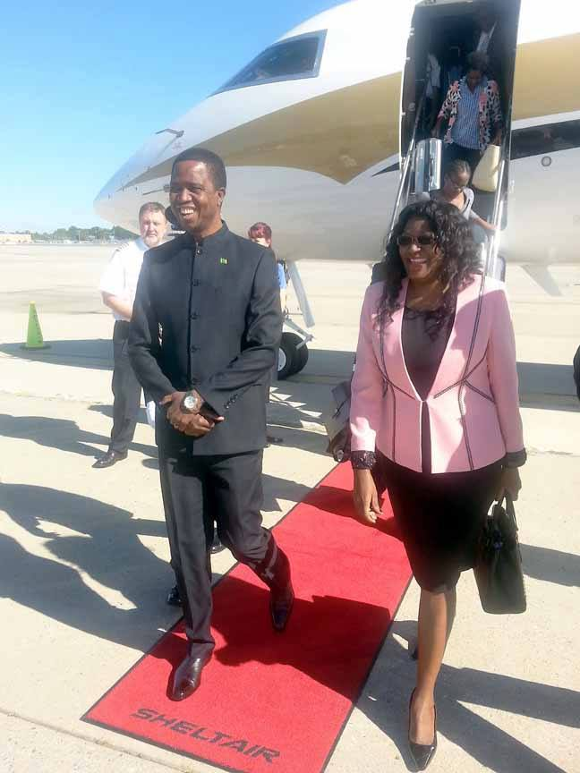 Government hires $300, 000 Jet to take Lungu to USA