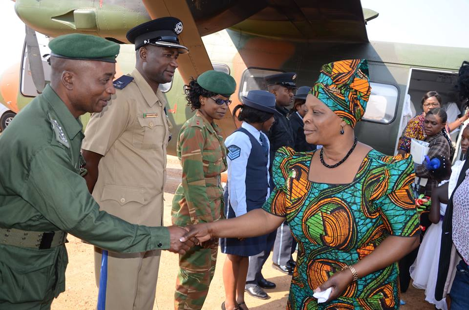 Lungu's wife rejects advice to stop abusing public funds, says am your mom