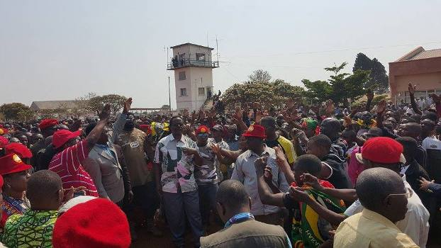 HH, GBM receive thunderous welcome in Kasama, as PF police plan to stop radio Mano programme