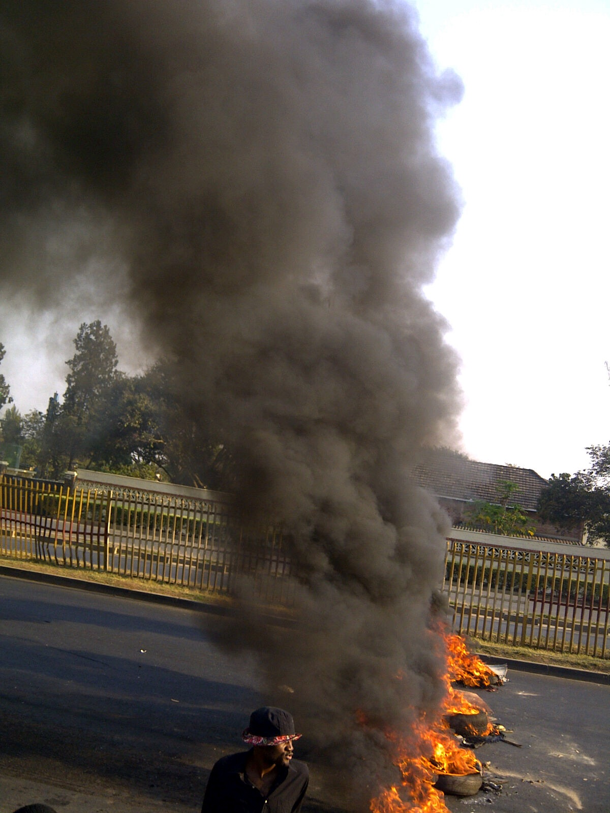 UNZA students riots due to PF failure to pay lecturers
