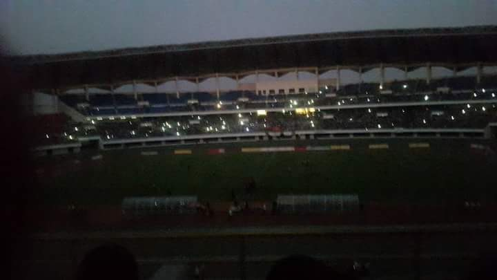 Disaster Heroes stadium hit with power cut during international game, president inside