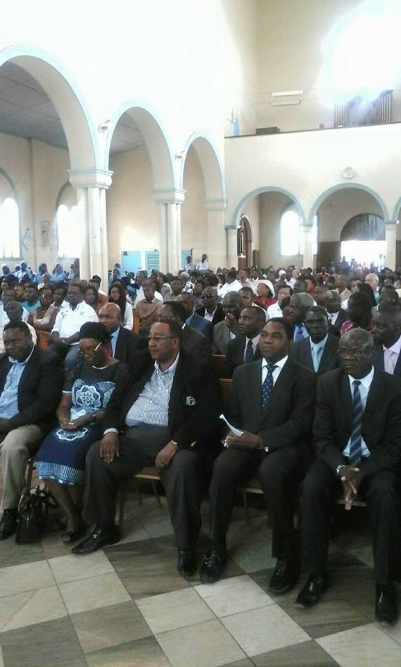 Real Churches and Lungu's day of prayers – Catholics chose to pray with HH