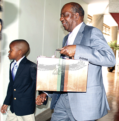 Chikwanda provides K498.4 m in budget for his son and partners to steal
