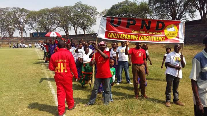 Photos of the day: UPND March for independence