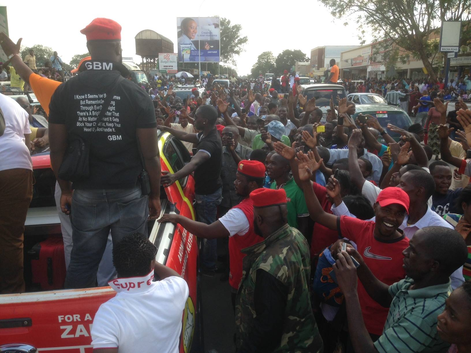 GBM reacts to PF's hate speeches at the Kitwe rally