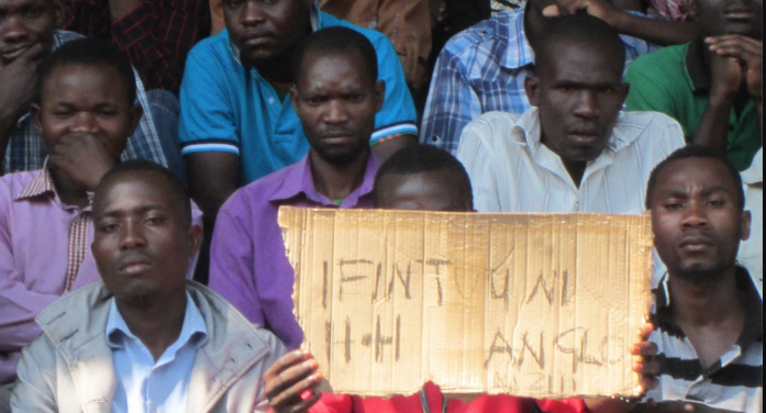 Photos of the day: miners yearn for HH, Anglo American
