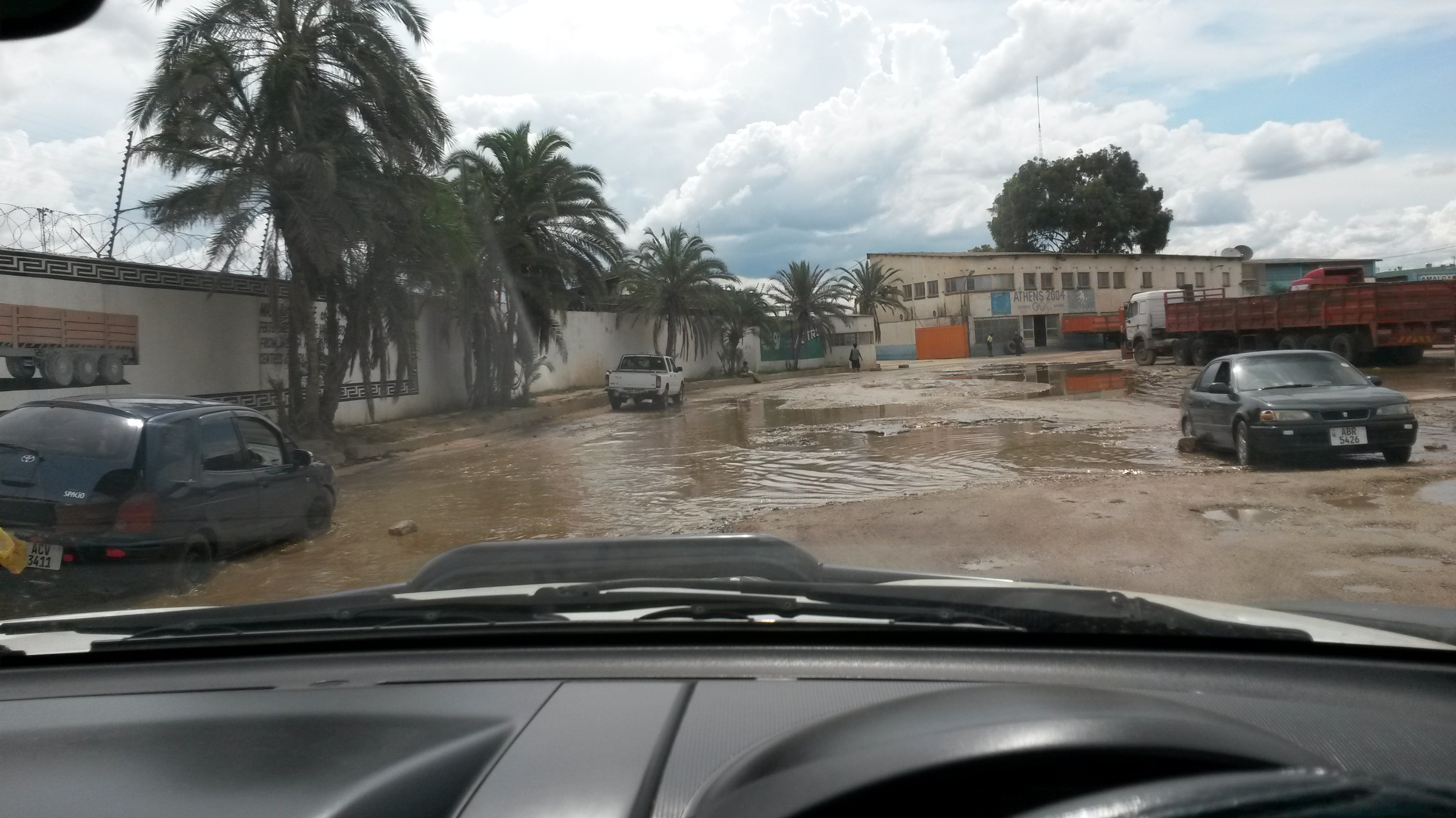 Roads in Industrial Area of Lusaka