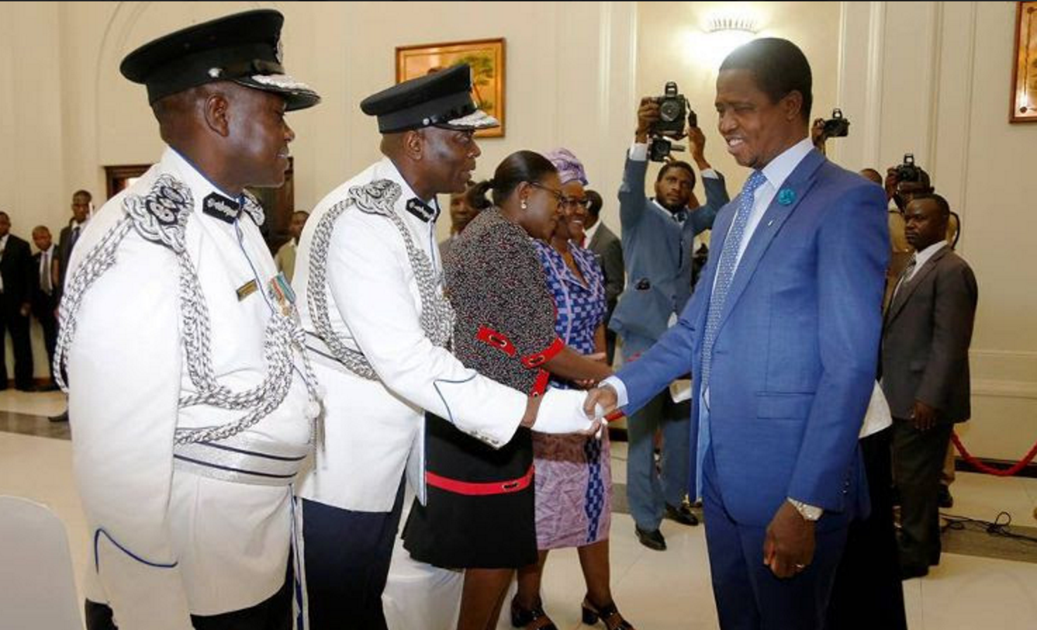 Senior police officers stealing from juniors…..