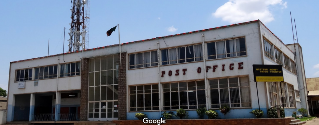 This dirty place isn the main Post office in Zambia