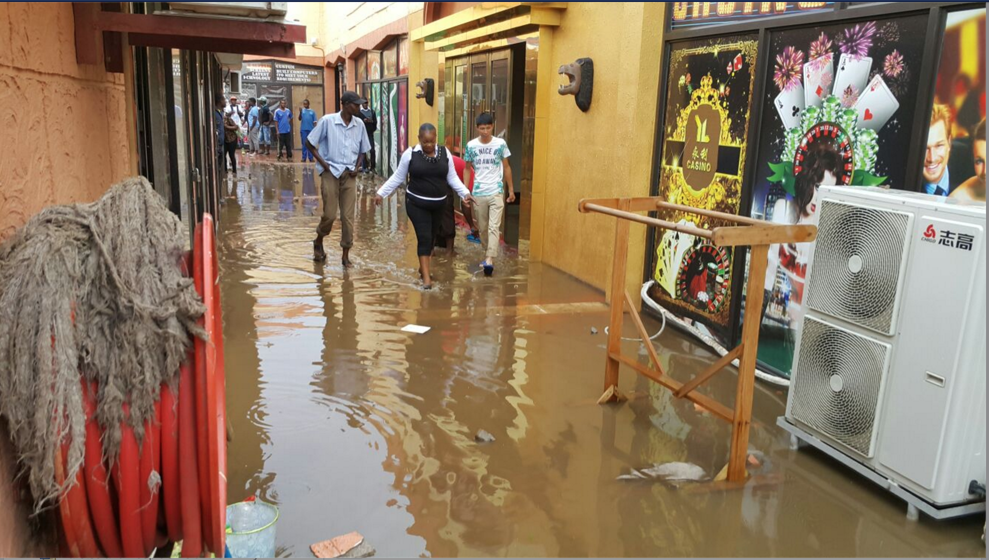 Photos of the day: Down Town after rains