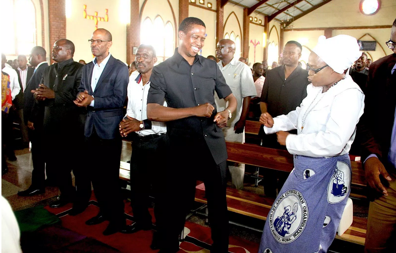 Lungu to 'bad mouth' Catholic Bishops when he meets Pope