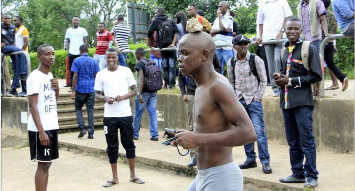 Photo of the day: student protester