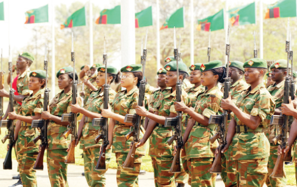 President Lungu planning to 'force' soldiers to vote for him