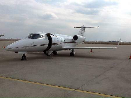 Davies Chama buys private jet?