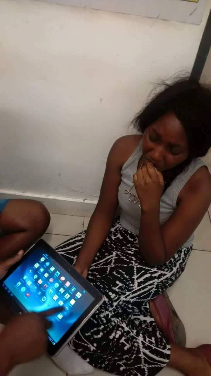 Photo of the day: ZNBC presenters caught stealing bras
