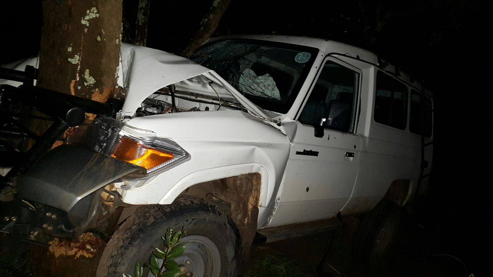 Beer: Mangango DC in road accident