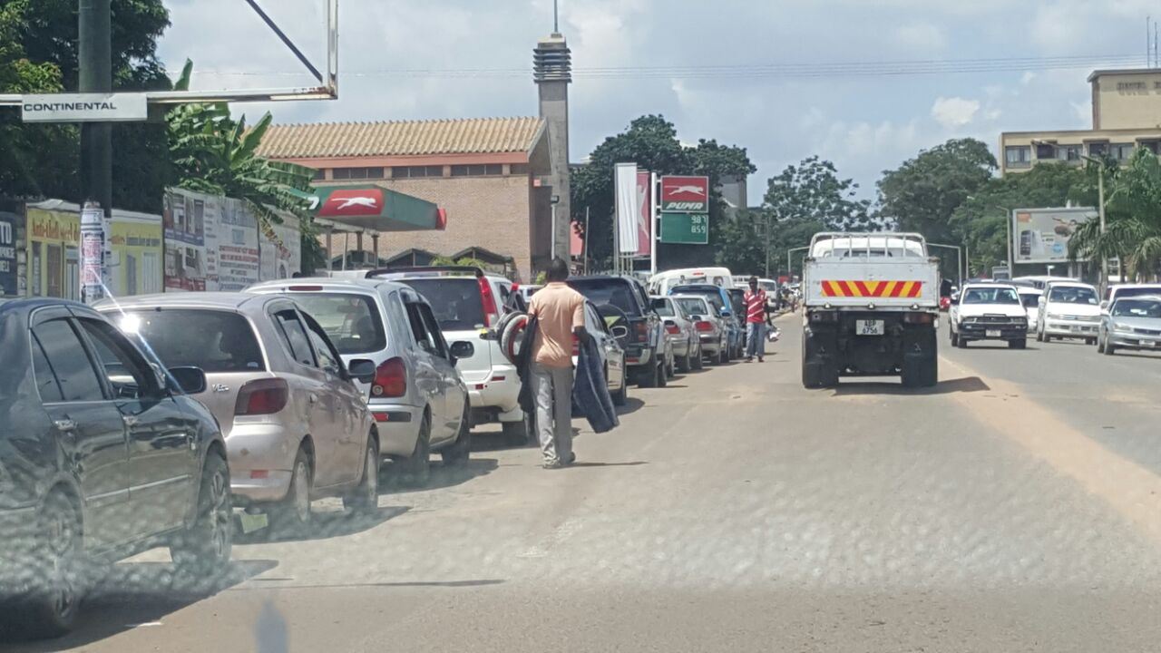 Now Kitwe also hit by fuel shortage