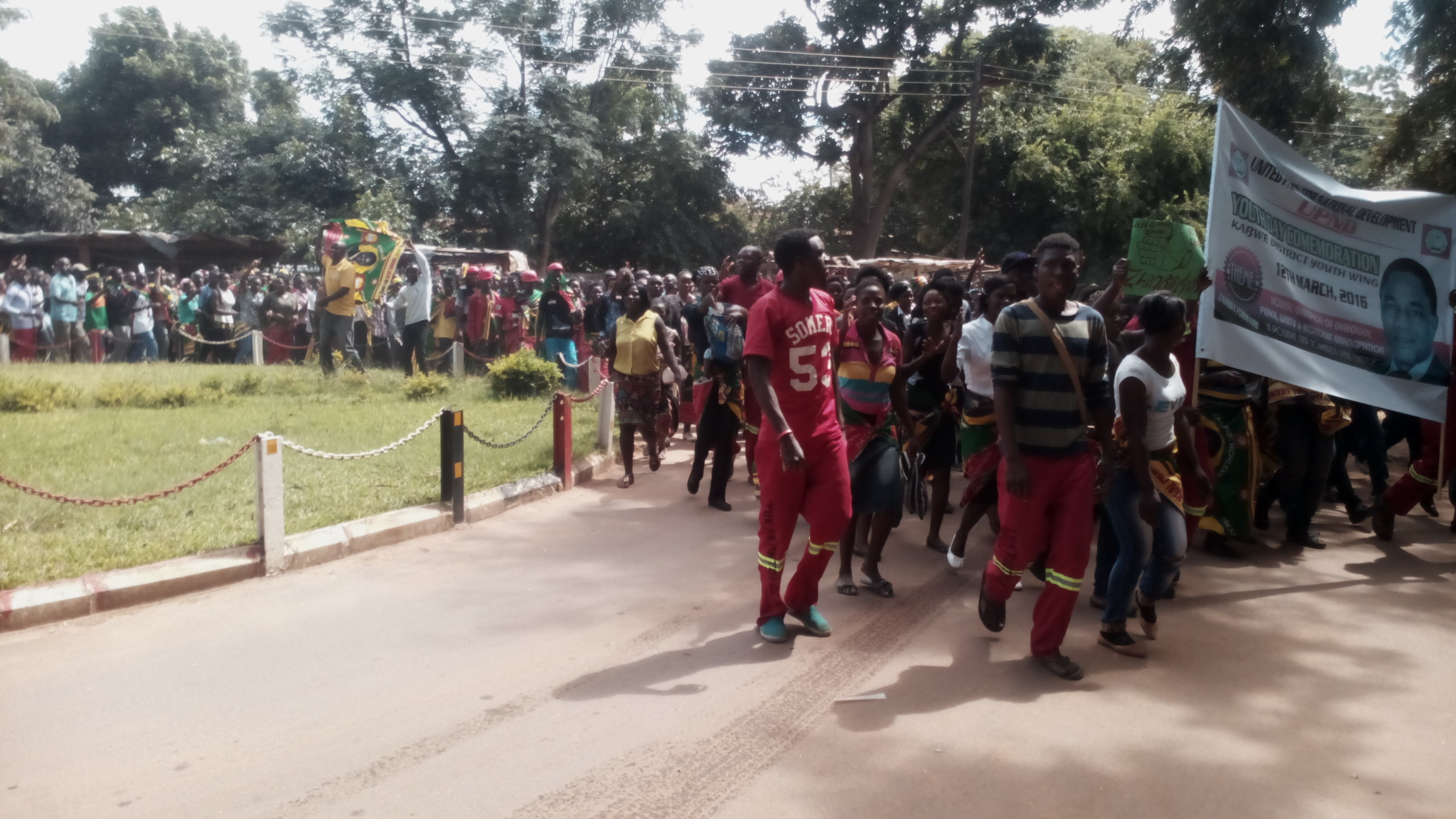 UPND commemorate youth day in Kabwe