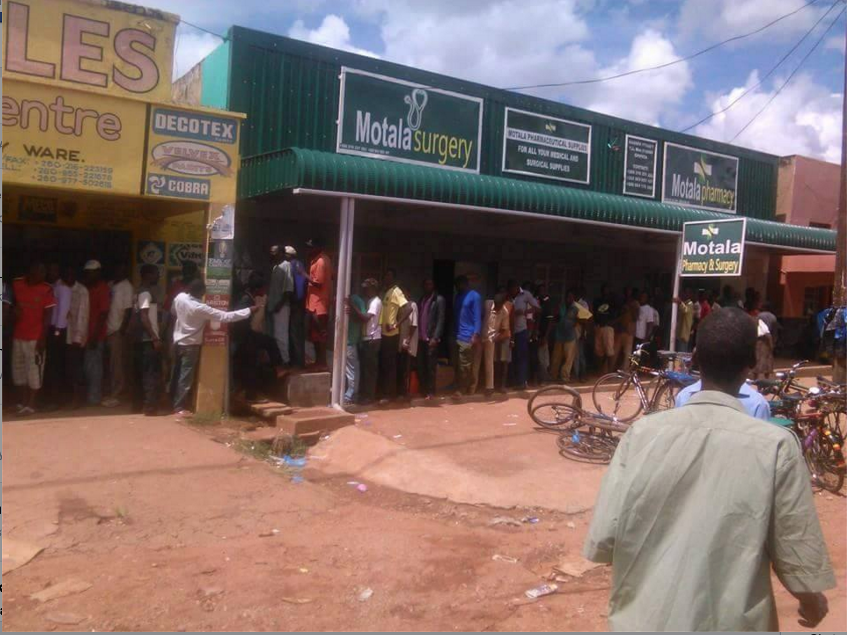 Mealli meal runs out in Chipata