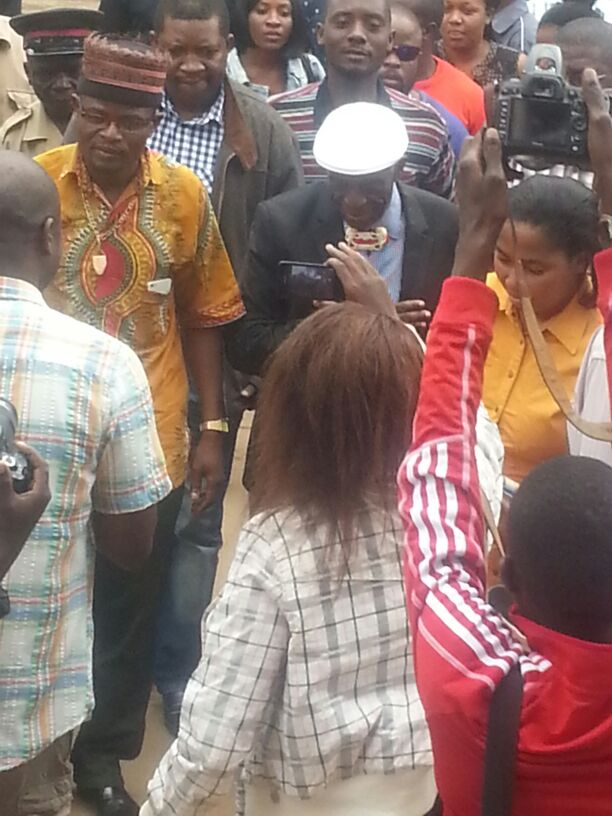 Chief Munkonge visits GBM in jail