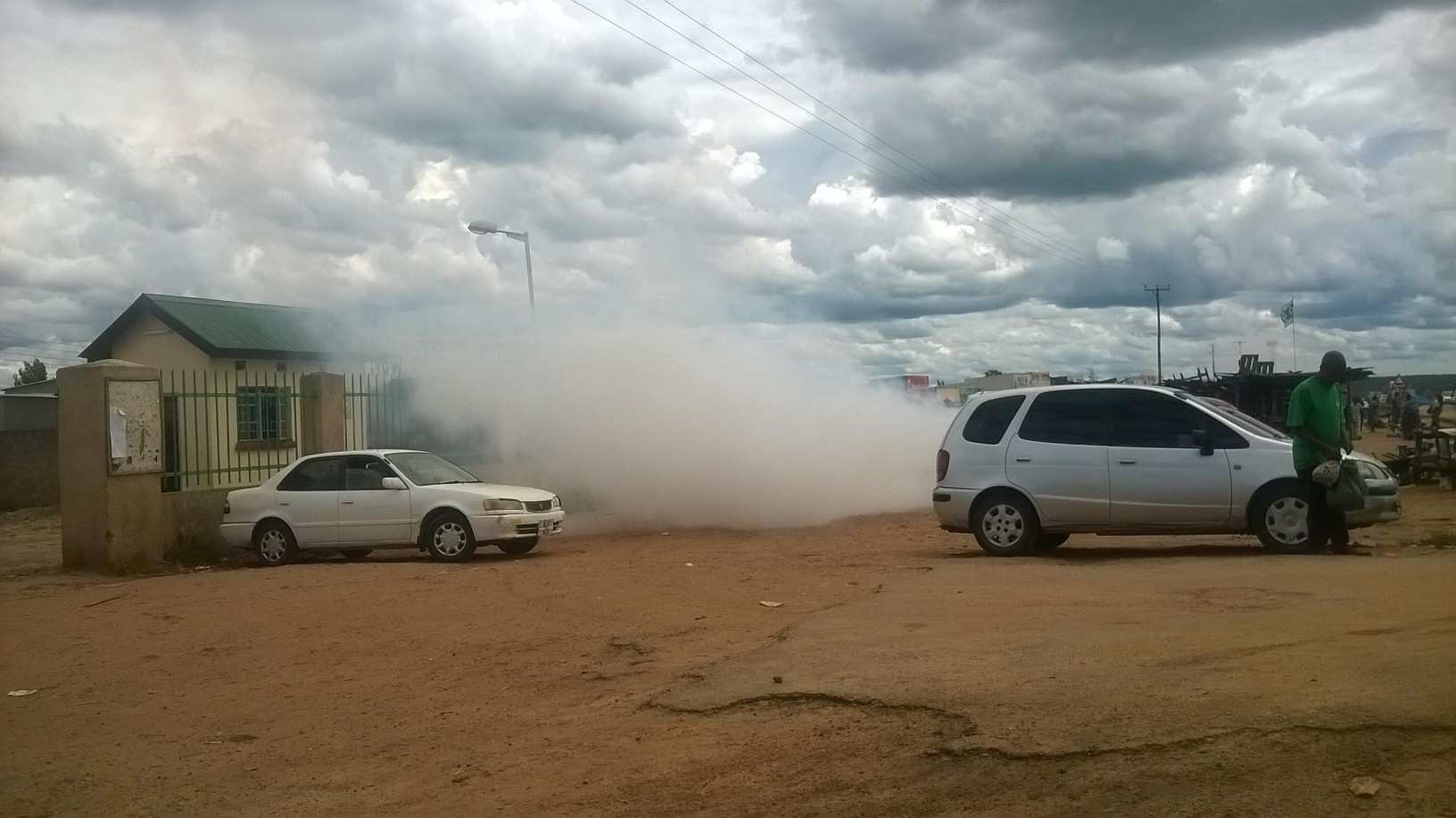Police teargass UPND youths in Kaoma