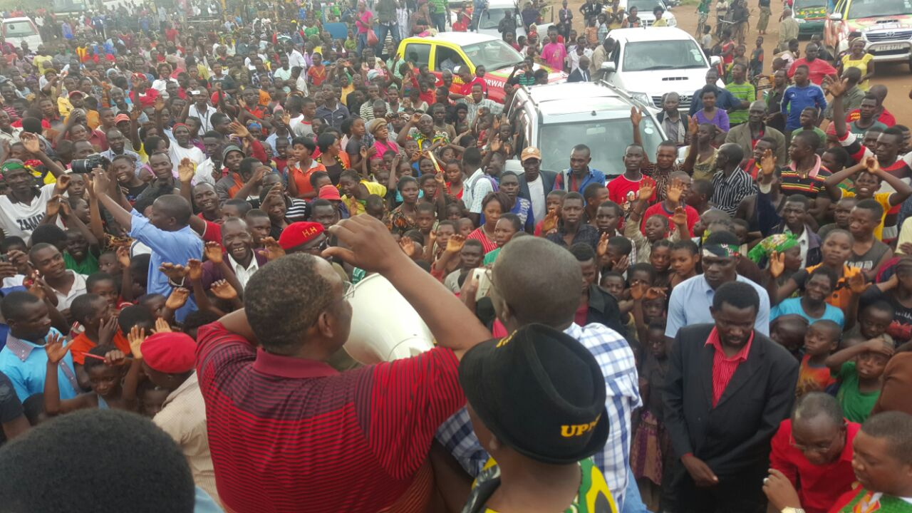Photo of the day: HH, GBM in Mbala