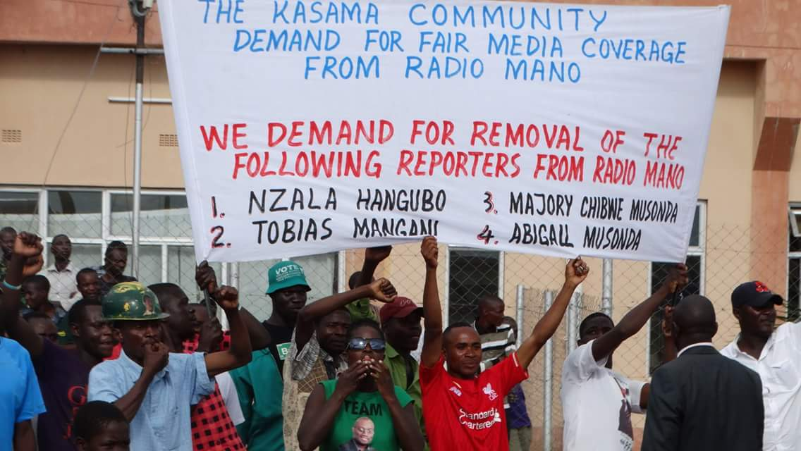 PF thugs threaten to burn radio station, want Lungu to remove journalists