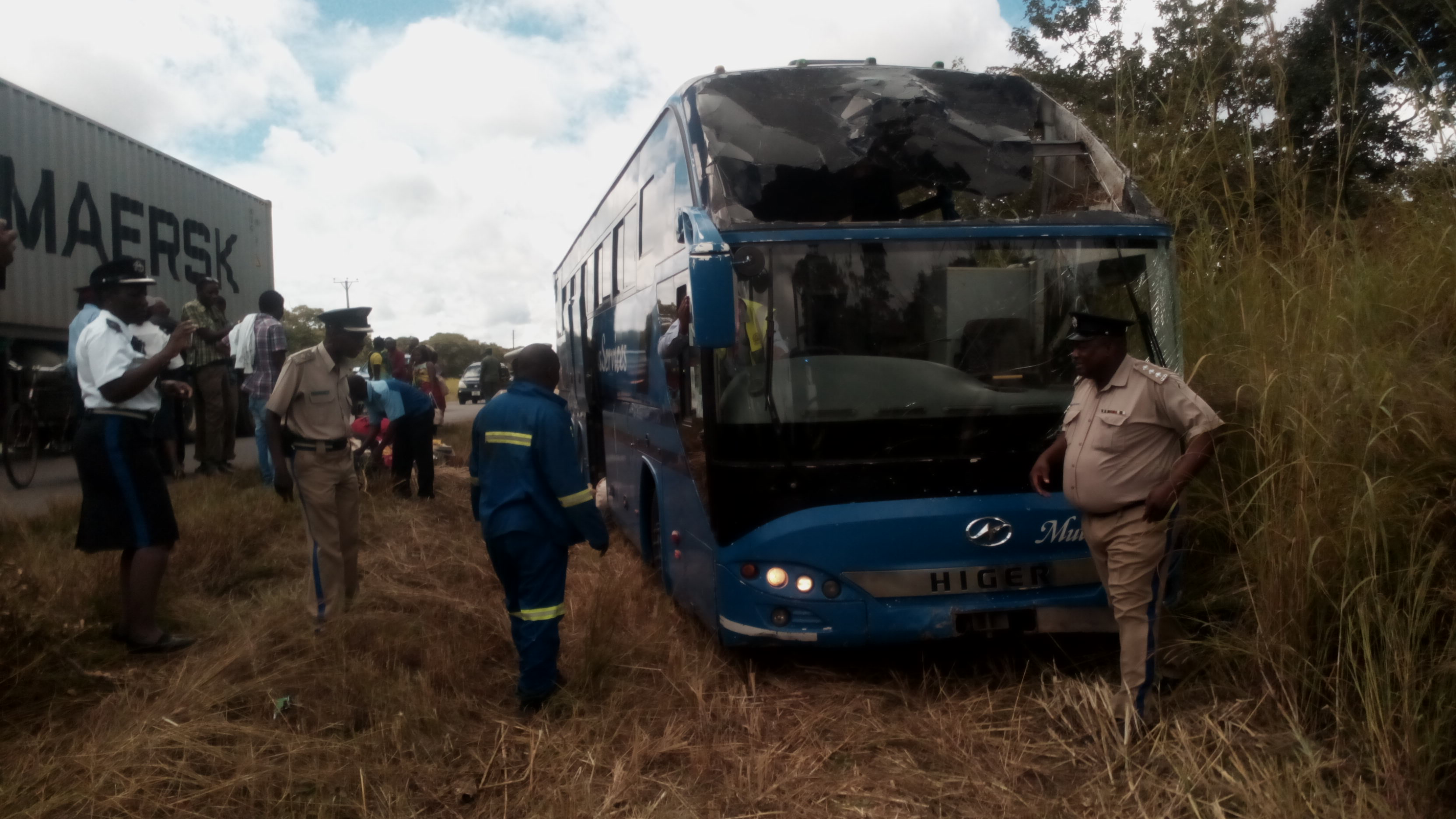 Five die in Mazhandu bus accident along the disastrous Great North road