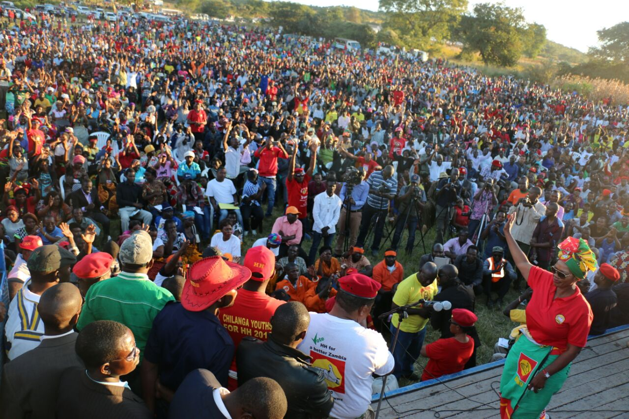 HH says UPND'10 Point Plan Starts with Jobs
