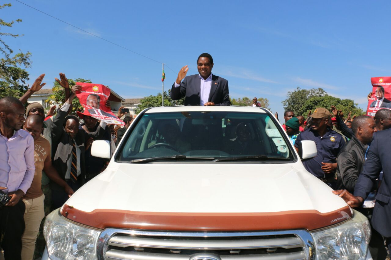 UPND says rally to launch campaigns will be held in Kitwe next Saturday