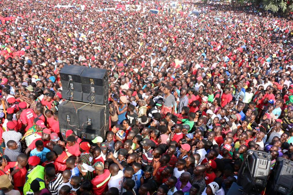 What HH said during Kitwe rally
