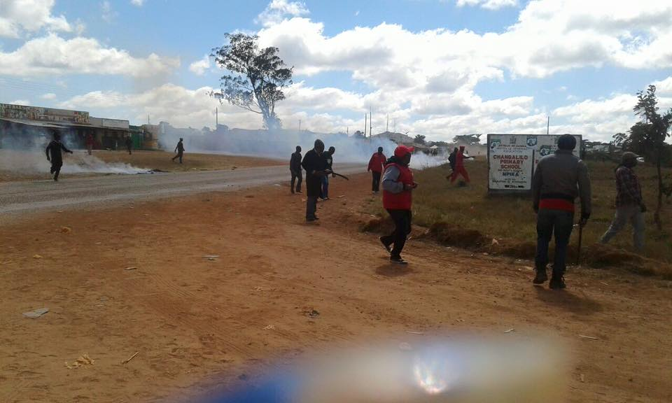 Police attack UPND supporters in Shiwangandu