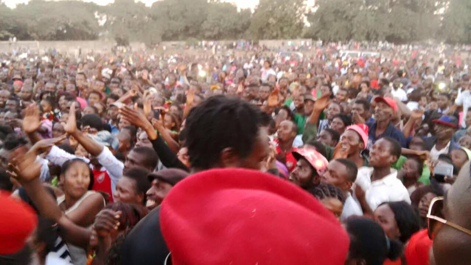 GBM and team wind up day with another huge rally in Wusakile